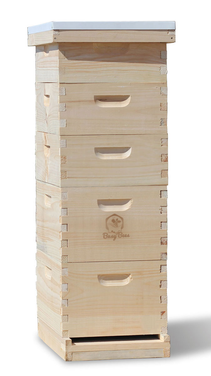 Commercial Apiary Langstroth Bee Hives For Sale 8 Frame